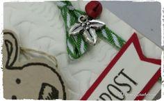 DesignZauberein:      Warm verpackt.... Das Wetter ist ja zur Zeit... Christmas Ornaments, Holiday Decor, Design, Home Decor, Weather, Packaging, Xmas, Cards, Xmas Ornaments