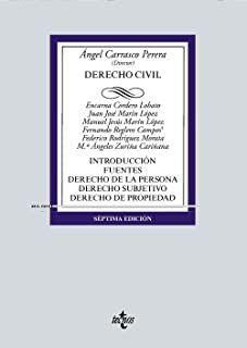 Derecho civil Tecnos, 2021