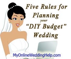 Top 5 Money Saving Rules When Shopping for Your DIY-Budget Wedding