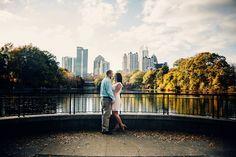 Piedmont Park Engagement Photographer   Tiffany & Eric » Atlanta wedding photographer blog   Harper & Shane Photography
