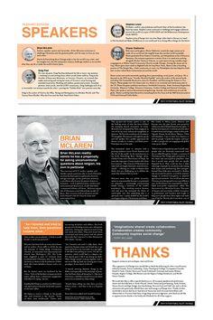 36 Awesome Conference Program Booklet Images Brochure