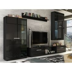 These entertainment furniture units will transform any living room and provide ample storage for multimedia, books and ornaments. Tv Entertainment Stand, Entertainment Furniture, Modern Cabinets, Tv Cabinets, Tv Stand Cabinet, Hanging Cabinet, Living Room Modern, Living Rooms, Living Room Furniture