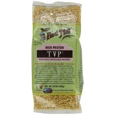 Bob's Red Mill TVP (Textured Vegetable Protein), 10-Ounce Bags (Pack of 4): Amazon.com: Grocery & Gourmet Food