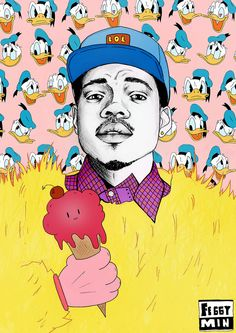 Chance the Rapper by Feggy Min