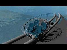 Futuristic under water world