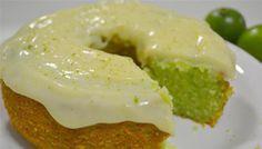 Bolo de gelatina de limão