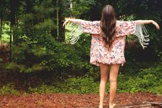 American Threads - Floral Fringe Kimono, $45.99 (http://www.shopamericanthreads.com/floral-fringe-kimono/) GETTING THIS!