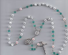 Family Name Custom Rosary  Mother's Rosary by TheRosaryLady
