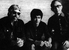 James Coburn Bruce Lee | James Coburn, Bruce Lee et Raymond Chow