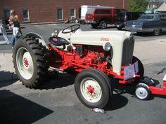 A Fe Eb Aa Dfbca E F Ford Tractors Vintage Tractors