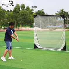 0775cf26dcd72c (  Free Gift  ) Golf Practice Net Professional Golf Cage Golf Trainer Golf  Training Aids 2017 New Arrivals Outdoor Sports