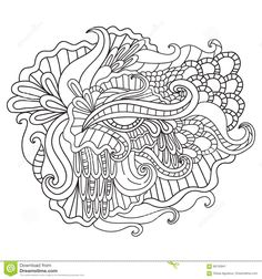 coloring-pages-adults-decorative-hand-drawn-doodle-nature-ornamental-curl-vector-sketchy-pattern-book-69740941.jpg (1300×1390)