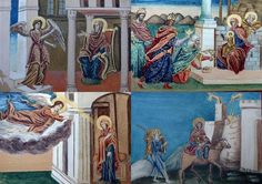 *2 Oreste Tafrali Rare Suite De Quatre Gouaches à Rehauts D'or, Art Byzantin , ARTE TRES GALLERY, Proantic