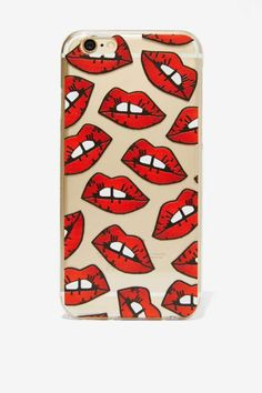 Skinnydip London Smooches iPhone 6 Case