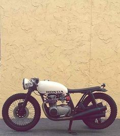 Honda CB cafe racer. #Caferacer #bike #motorcycle