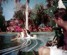 """""""Easy to Love"""" - starring the beautiful Esther Williams and filmed at Cypress Gardens."""