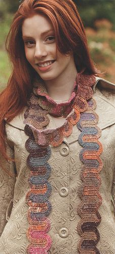 Switchback Scarf - Crochet One-Skein wonders: 101 Projects from Crocheters around the World
