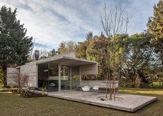 Pavillon de jardin pour la Casa Torcuato à Bueno Aires par Besonias Almeida…