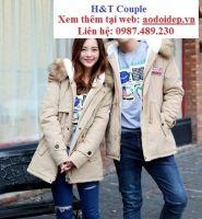 áo khoác đôi HT6033 kem
