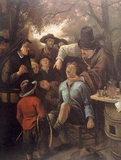 Bamboccioni & Bamboccianti  , Jan Miel (1599 -1663),