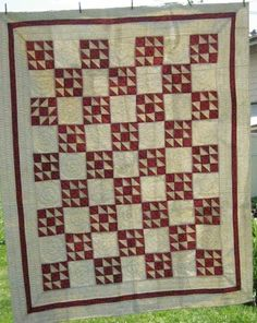 Antique Old Maid's Puzzle Quilt 1890'S | eBay