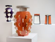 British Ceramics in 'Material: Earth,' Olivier Gagnère's New Relics and more