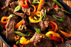 Get your pepper on with this mouth-tingling stir-fry featuring hot pepper and bell peppers in one simple but mouthwatering dish.