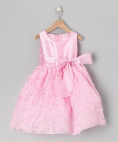 Take a look at this Pink Swirl Dress - Infant, Toddler & Girls on zulily today!