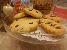 Cookies, home made cookies, biscotti. Con vaniglia. With Vanilla