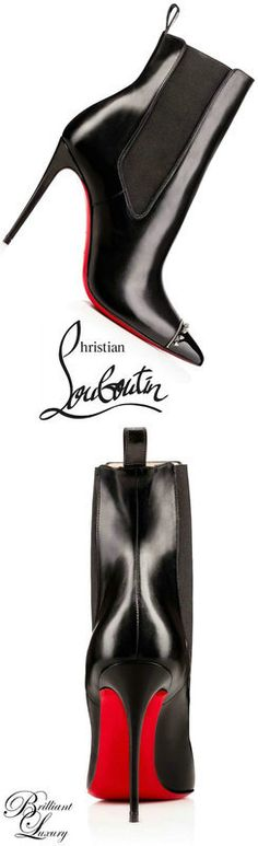 CHRISTIAN LOUBOUTIN PYRAMIPUMP PATENT STELLAR 100 Black Lambskin - Women Shoes - Christian Louboutin. #christianlouboutin #shoes #