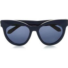 Karen Walker Starburst Cat-Eye Acetate Sunglasses as seen on Miranda Kerr