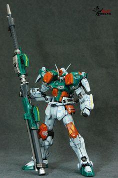 MG 1/100 GAT-X103 Buster Gundam  Modeled by blackheart