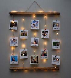 Teenage Girl Gifts Christmas, Christmas Gifts For Mom, Cute Room Decor, Diy Wall Decor, Photo Decoration On Wall, Christmas Gift Baskets, Christmas Tree Decorations, Diy Photo, Christmas Lights Wallpaper