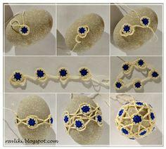 Crochet Around Stones - Tutorial
