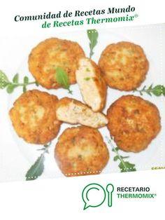 HAMBURGUESAS DE SALMÓN por ana sevilla. La receta de Thermomix® se encuentra en la categoría Pescados y mariscos en www.recetario.es, de Thermomix®