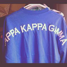 Kappa Kappa Gamma spirit jersey