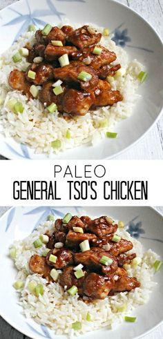 Paleo General Tso's Chicken - a healthy, gluten free dinner that makes great leftovers for lunch!