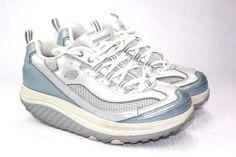 Skechers Fitness Women Shape Ups Light Blue  Shoes Size 7 Us 4 Uk 37 Eur #Skechers #Walking