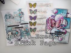 Art Journaling for Beginners Part 4: How to Break A Blank Page video. Marta from Maremi SmallArt shares her AMAZING knowledge of Art Journaling and Mixed Media. <3