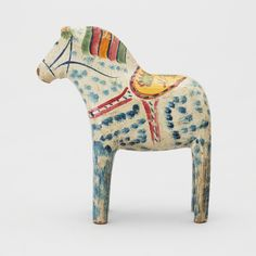 Dala horse, first half of the 20th C.
