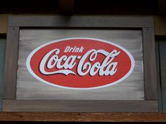 coca cola sign | Wooden Coca-Cola Sign | Flickr - Photo Sharing!