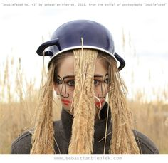 """""""Doublefaced No. 43"""" by Sebastian Bieniek, 2013. From the serial of photographs """"Doublefaced"""""""