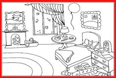 Goodnight Moon Colouring Page