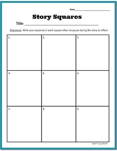 Story Squares Literature Response Strategy Keeps Students' Attention on the Text