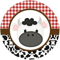 La Granja Bebés: Wrappers y Toppers para Cupcakes para Imprimir Gratis. Farm Animal Birthday, Farm Birthday, 3rd Birthday Parties, Cowboy Theme Party, Farm Party, Cow Cupcakes, Foto Transfer, Barn Parties, Farm Theme