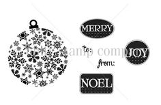 To Merry from Noel - Unity Stamp Company