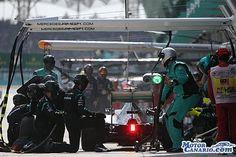 Mercedes, sorprendida con el avance de Ferrari.