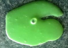 Oozy green slime...