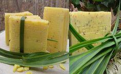 How to Make a Lemongrass Soap