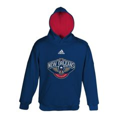 NBA New Orleans Pelicans Boys 820 Prime Pullover Hoodie Large 1416 Dark Navy * Details can be found by clicking on the image.
